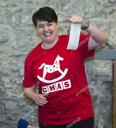 Ruth Davidson leader of Scottish Conservatives