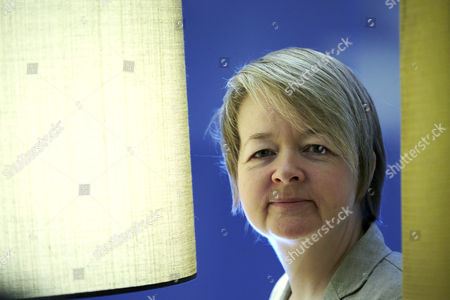 British writer Sarah Waters poses during the presentation of the Spanish edition of her work 'The Paying Guests' in Barcelona, Spain, on 19 January 2017.