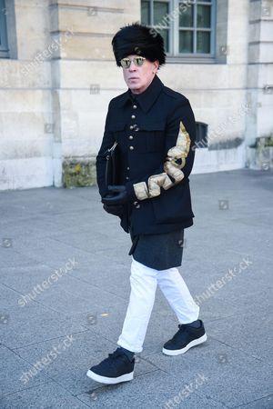 Nick Wooster, Balenciaga Street Style, Autumn Winter 2017 2018, Street Style during the Paris Menswear, ready to wear, fashion shows