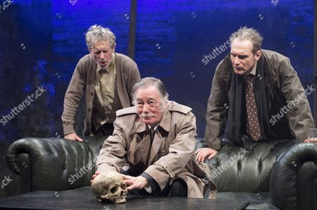 Stephen Boxer as Gerry, Jeff Rawle as Inspector Clout, Julian Bleach as Roger