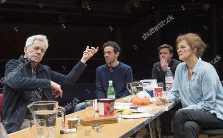 Nicholas Le Prevost as Rudolph, Milo Twomey as Konrad, Dominic Rowan as Albert, Kate Fahy as Corinna