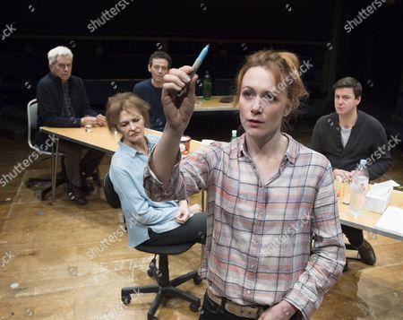 Nicholas Le Prevost as Rudolph,, Kate Fahy as Corinna, Milo Twomey as Konrad, Laura Rogers as Bettina, Dominic Rowan as Albert