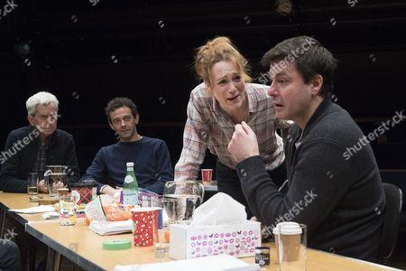 Nicholas Le Prevost as Rudolph, Milo Twomey as Konrad, Laura Rogers as Bettina, Dominic Rowan as Albert