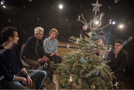 Milo Twomey as Konrad, Nicholas Le Prevost as Rudolph,, Kate Fahy as Corinna, Laura Rogers as Bettina, Dominic Rowan as Albert