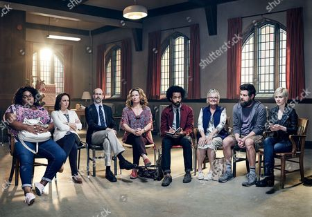 Ana Gasteyer, Nancy Lenehan, Brian Huskey, Oscar Nunez, Wyatt Cenac, Tracee Chimo, Alice Wetterlund, Luka Jones, and Da'Vine Joy Randolph