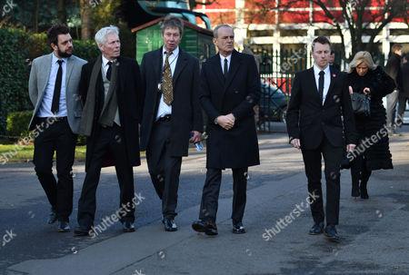 Editorial photo of Rick Parfitt's Funeral, Woking, UK - 19 Jan 2017