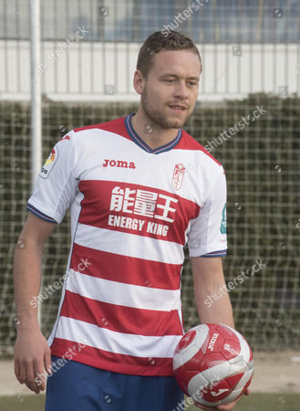 Icelandic defender Sverrir Ingi Ingason, poses for the photographers during his presentation as a new player of Granada CF, at the sport facilities of the team, in Granada, Andalusia, southest Spain, 19 January 2017. Ingason signs with Granada CF until 2020. EFE/Miguel Angel Molina