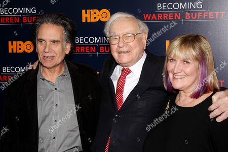 Peter Buffett, Warren Buffett, Susan Alice Buffett