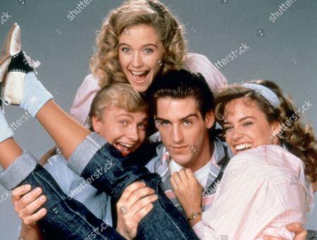 Stock Photo of 'Mischief' - Doug McKeon, Kelly Preston, Chris Nash and Catherine Mary Stewart