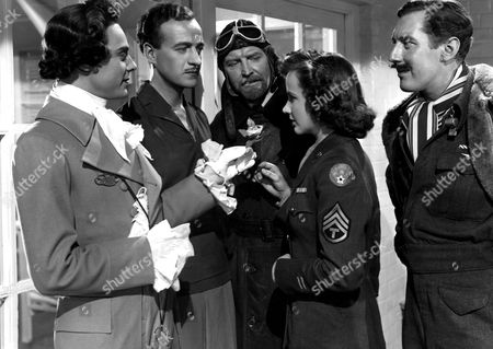 'A Matter of Life and Death' -  Marius Goring, David Niven, Roger Livesey, Kim Hunter and Robert Coote