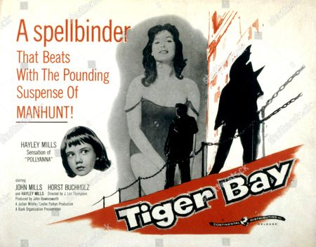 'Tiger Bay' -  Hayley Mills and Yvonne Mitchell