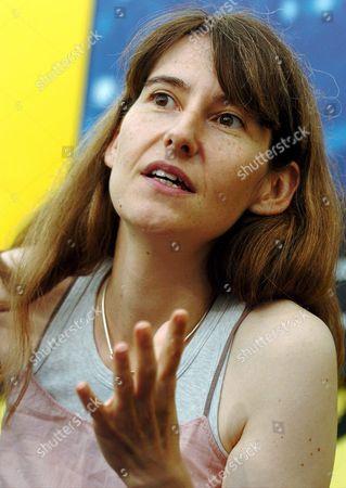 French Director Laetitia Masson Talks About Her Film 'Pourquoi (pas) Le Bresil' During a Press Presentation at the 57th International Film Festival Locarno Switzerland Schweiz Suisse Locarno