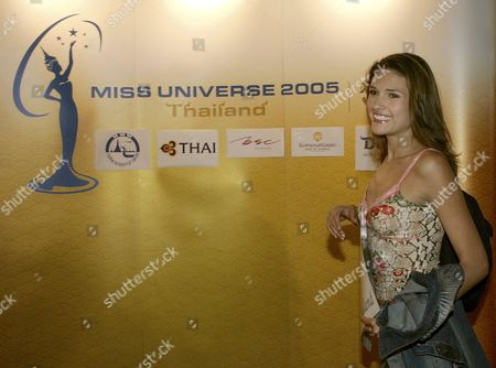 Miss Universe 2005 Contestant Elena Ralph of Israel Upon Her Arrival at the Hotel in Bangkok Thailand On Monday 09 May 2005 Thailand Will Host the Miss Universe 2005 Beauty Pageant This Year and the Winner Will Be Selected On Tuesday 31 May