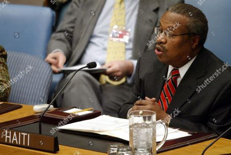 Haiti's Ambassador Jean Alexander Talks About the Situation in Haiti to the United Nations Security Council On Thursday 26 February 2004 in New York