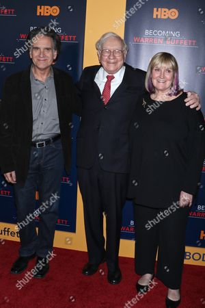 Editorial photo of 'Becoming Warren Buffett' film premiere, New York, USA - 19 Jan 2017