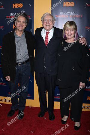 Editorial picture of 'Becoming Warren Buffett' film premiere, New York, USA - 19 Jan 2017