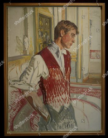 A Preliminary Sketch of Prince William by the Artist John Wonnacott Which Will Go On Sale at Agnew's of Old Bond St London Tomorrow For a Sum in the Region of ú100 000 (147 227 Euros) Tuesday 27 September 2005 the Study of the Prince Painted Just Before His Eighteenth Birthday is One of the Preliminary Sketches For the Large Portrait of the Royal Family by John Wollacott Commissioned by the National Potrait Gallery in 2000