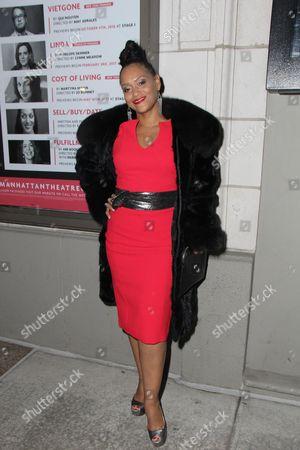 Editorial photo of 'Jitney' Opening Night, New York, USA - 19 Jan 2017