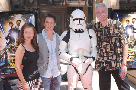 Catherine Taber, Tom Kane and Matt Lanter