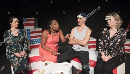 Editorial image of 'Top Trumps' New Palys performed at the Theatre 503, Battersea, London, UK, 19 Jan 2017