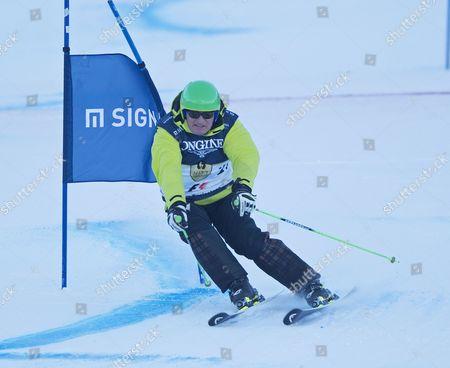 Franz Klammer in action in The Kitz Charity Trophy Ski race in Kitzbuhel Austria AUDI FIS SKI WORLD CUP 2016/2017 MENS DOWNHILL Hahnenkamm Kitzbuhel Austria 2017 Picture: Sandra Mailer 21/1/2017