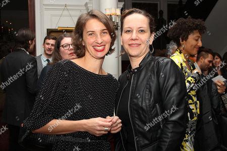 Tamara Rosenberg and Nina Krstic