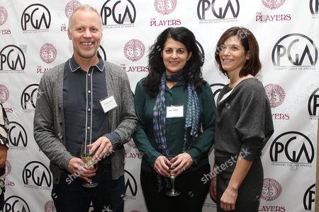 Christopher Collins, Lydia Tenaglia and Sandra Zweig