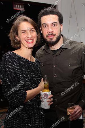 Stock Picture of Tamara Rosenberg and Ezra Edelman
