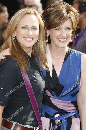 Marlee Matlin and Ann Sweeney