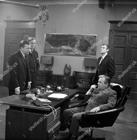 'The Power Game' - The Heart Market - Peter Barkworth, Jack Watling, Michael Jayston and Patrick Wymark.