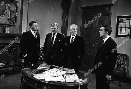 'The Power Game'  - Mergers - Jack Watling and  Michael Jayston.