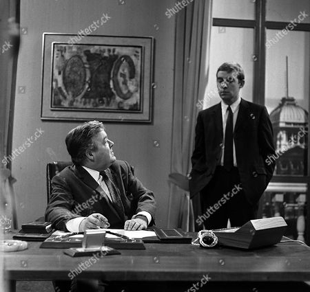 'The Power Game'  - Triangles - Patrick Wymark and Michael Jayston.