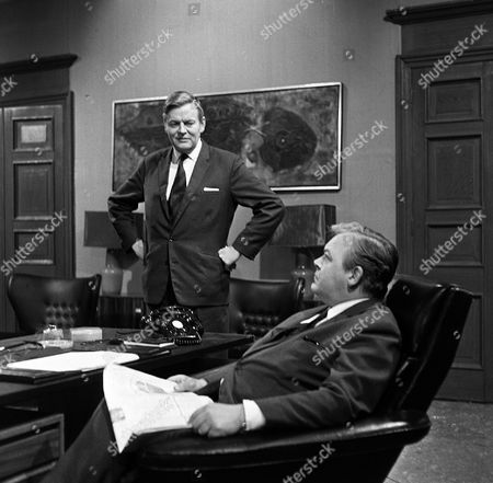 'The Power Game'  - Triangles - Jack Watling and  Patrick Wymark.