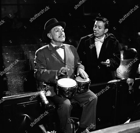 Stock Photo of 'The New Adventures of Charlie Chan'  - The Death of a Don -  J. Carrol Naish,, James Hong.