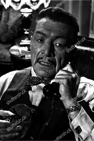Stock Picture of 'The New Adventures of Charlie Chan'  -The Counterfeiters -  J. Carrol Naish.