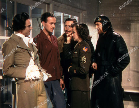 'A Matter of Life and Death' - Marius Goring, David Niven, Robert Coote, Kim Hunter and Roger Livesey