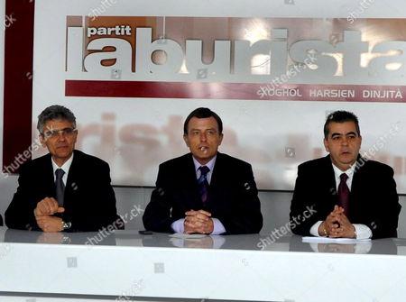 Editorial photo of Malta Elections Resignation - Mar 2008