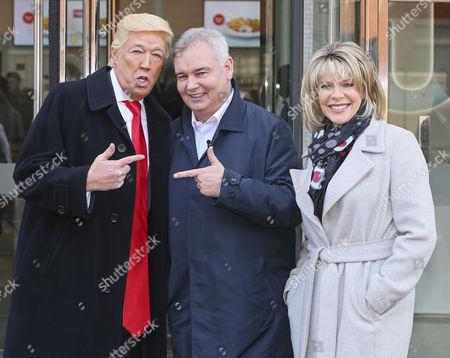 Donald Trump - Mike Osman, Eamonn Holmes, Ruth Langsford