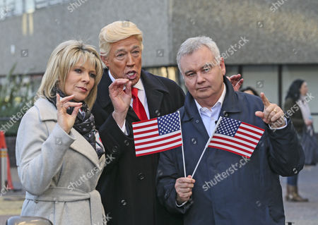 Eamonn Holmes, Donald Trump - Mike Osman, Ruth Langsford