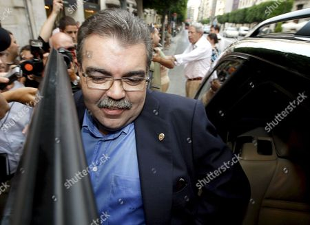 Majority Shareholder and Former Valencia F C President Juan Soler Leaves His Own Office in Valencia Spain 08 July 2008 Having Reached a Deal with Juan Villalonga Former Chairmain of Telefonica to Confer to Him the Presidency of the Team That Won't Take Effect After the Extraordinary General Meeting of Shareholders 25 July