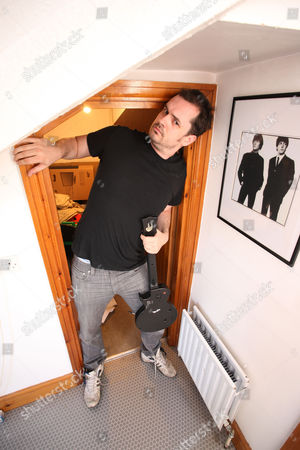 Jim Jeffries with his favourite Beatles picture