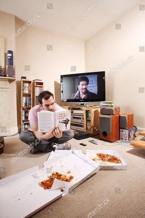 Jim Jeffries in his living room