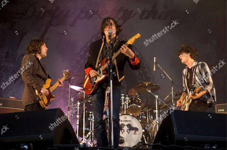 Editorial image of France Dirty Pretty Things in Concert - Aug 2008