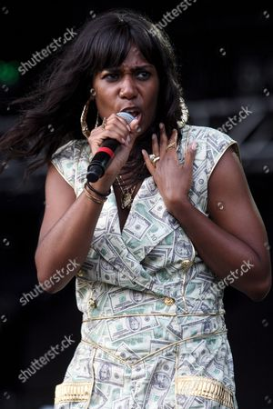 Us Singer-songwriter Santigold Formerly Known As Santogold Whose Real Name is Santi White Performs in Concert at the Ultra Music Festival in Miami Florida Usa 27 March 2009 the Performer Had to Change Her Onstage and Recording Moniker to Avert Legal Action by Jeweler Santo Gold Media Report