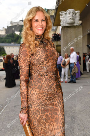 German Television Presenter Katja Burkard Arrives Prior to the Premiere of Thomas Ades' Opera 'The Exterminating Angel' During the Salzburg Festival in Salzburg Austria 28 July 2016 the Festival Runs From 22 July to 31 August Austria Salzburg