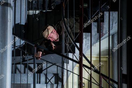Austrian Actor Florian Teichtmeister As 'Fuerchtegott Lehmann' Performs on Stage During the Dress Rehearsal of Oedoen Von Horvath's Play 'Niemand' (nobody) at Theatre in Der Josefstadt in Vienna Austria 30 August 2016 the Typescript of Austrian-hungarian Author Oedoen Von Horvath's Play 'Niemand' was Discovered in the Nineties and Will World Premiered on 01 September 2016 Austria Vienna