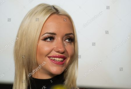 Cathy Schmitz Wife of Austrian Businessman Richard Lugner (unseen) Attends a Press Conference with Her Husband at the Shopping Mall 'Lugner City' in Vienna Austria 13 January 2016 Lugner Announced That Us Actress Brooke Shields Will Accompany Him to the Vienna Opera Ball 2016 As His Special Guest on 04 February Austria Vienna