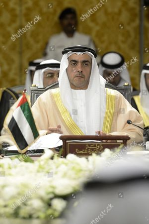 United Arab Emirates (uae) Minister of Interior Sheikh Saif Bin Zayed Al Nahyan Attends the 14th Consultative Meeting of Interior Ministers of the Gulf Cooperation Council Countries (gcc) in Manama Bahrain 23 April 2013 Gcc Interior Ministers in Their Meeting Pointed out That They Continue to Face Internal and External Threats and That They Need to Further Increase Their Security Cooperation to Combat These Threats Bahrain Manama