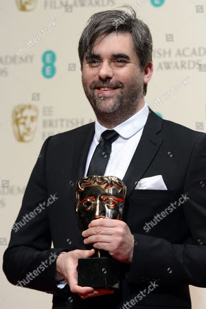 British Director Kieran Evans Poses in the Press Room After Wining the Outstanding Debut by a British Writer Director Or Producer Award For 'Kelly + Victor' at the 2014 Ee British Academy Film Awards Ceremony at the Royal Opera House in London Britain 16 February 2014 the Ceremony is Hosted by the British Academy of Film and Television Arts (bafta) United Kingdom London