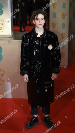 British Singer Mica Levi Arrives on the Red Carpet For the 2015 British Academy Film Awards Ceremony at the Royal Opera House in London Britain 08 February 2015 the Ceremony is Hosted by the British Academy of Film and Television Arts (bafta) United Kingdom London